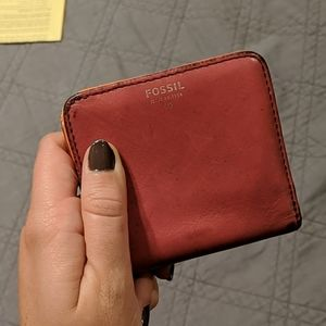 2/$10 Used Fossil Mini Wallet